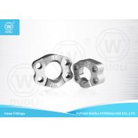Quality Carbon Steel SAE Split Flange Clamps Hydraulic Pipe Fittings with Zinc Plate for sale