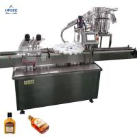 Quality Higee alcohol bottles filling machine whiskey bottling machine spirit bottling machine for sale