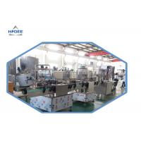 Quality Long Service Life Liquid Beverage Filing Machine With Conveyer Belt Material for sale