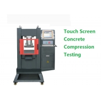 Quality Digital Touch Screen 215mm Concrete Compression Testing Machine for sale