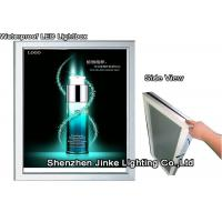 Quality Eco - Friendly Black Snap Frame LED Light Display Advertising Board With CE for sale
