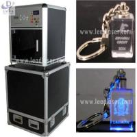 China 2d/3D Laser Engraving Crystal KeyChain on sale
