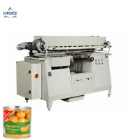 Quality evaporated milk in cans labeling machine  canned powder milk labeling machine cold glue labeling machine for sale