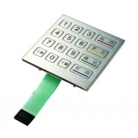 Best Square stainless Metal pinpad for ATM and kiosk with interface USB,PS/2 and RS232 wholesale