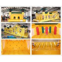 Quality Inflatable Jungle Run Obstacle Course for sale