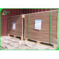 China Biodegradable Kraft Paper Brown Color 160GSM For Shopping Bags on sale