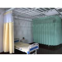 China Disposable Drilling Mesh Hospital Cubicle Curtain , Flame Retardant Non - Woven Material on sale