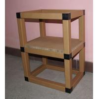 Recycling display rack and book shelves cardboard office furniture