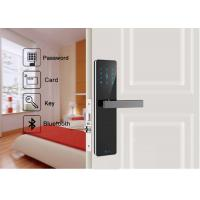 Quality Android IOS APP Remote Control Wifi Security Door Lock Bluetooth Digital For Apartment for sale
