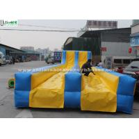 China Colored Double Lanes Inflatable Slip N Slide Commercial For Adults on sale