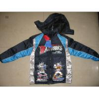 Best Apparel boy's padding jackets stock(coats,tops,children's clothing,children's garments,jackets stocks) wholesale