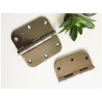 Quality Oil Resistance High Security Door Hinges High Durability Bright Brass Plated for sale