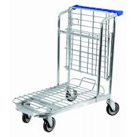 Best Medium Duty Colored Coating Metal Warehouse Carry Trolley For Grocery Store wholesale
