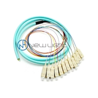 Quality FTTX SC Simplex LSZH 1m Tight Buffered Optical Cable for sale