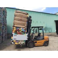 China Durable Bale Clamp Forklift Attachments Regenerative Hydraulic Valving on sale