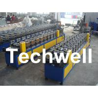 Quality 0.4 - 1.0mm Thickness 0 - 15m/min Speed C Stud Roll Forming Machine For Light Steel Keel for sale