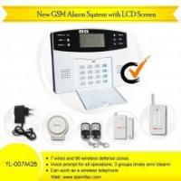 China New GSM Alarm System with LCD Screen on sale