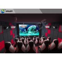 Quality Fun And Exciting Electric 5D Cinema System Solid / Stable Movie Theater Chairs for sale