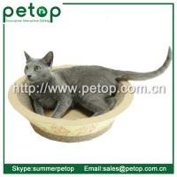 Quality Recycled paper Corrugated cat scratcher lounge for sale