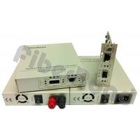DWDM / CWDM 10G Media Converter Copper To Fiber , RJ45 To SFP+