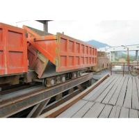 Quality Single-side Curved Rail Dumping Mine Car for sale