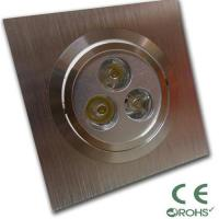 Buy cheap 3.8W Bridgelux, CREE Led Recessed Ceiling Lights Fixtures / Lamps for hotel, from wholesalers
