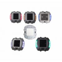 Quality CE RoHS IP68 Solar Road Stud Increasing Night Time Road Safety Aluminum Alloy Housing for sale