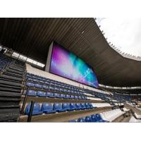 Advertising Full Color P10 Led Panel Screen Stage / Sports Stadium Scoreboard Banner