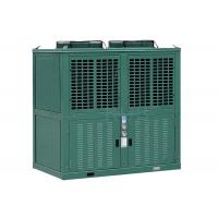 Quality R404a Low Temperature Commercial Refrigeration Condensing Units Green Color 10 Horsepower for sale