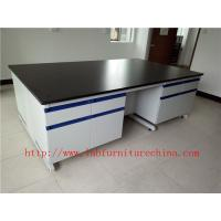 Quality Anti Corrosion /  Acid / Alkali School Lab  Island Bench Furniture Fitting For College  / University   Laboratory for sale