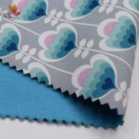Quality 100% Polyester Printed Waterproof Softshell Fabric , Waterproof Outdoor Fabric for sale