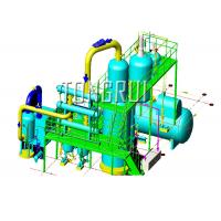 Buy Used Car Oil Distillation Refinery Machine / Waste Engine Oil Recycling at wholesale prices