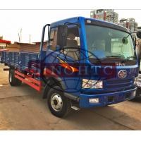 Quality Right Hand Driving Dropside Truck , 8 - 10 Tons Light Cargo Truck RHD Steering for sale