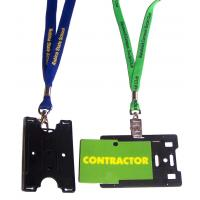 Best business work neck id card holder lanyard wholesale