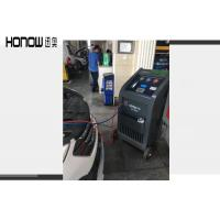 Quality Full Auto Air Conditioning Recovery Machine R134a Refrigerant Cleaning Device for sale
