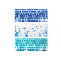 Quality Waterproof Silicone Keyboard Covers For Apple Macbook 13 Inch / 15 Inch Sea World for sale