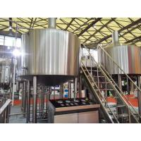 Touch Screen Large Home Brewing Equipment 2000L Sus304 Brewhouse Equipment