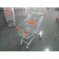 Childrens Wire Shopping Trolley Foldable With 4 wheel , European Style