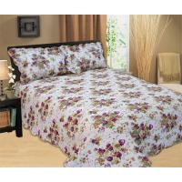 Best Full / Queen Size Quilt Bedding Sets 100 Percents Cotton With Classic Ticking Printing wholesale