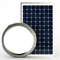 Round Solar Powered LED Lights Easy Installation LED Panel Lamp With Premium Modes