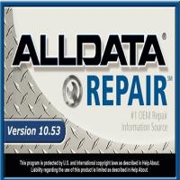 Best Professional Automotive Diagnostic Tools , ALLDATA 10.53 With USB Hard Disk wholesale