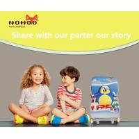 Quality Water Resistance Children'S Luggage On Wheels Hard Shell Penguin Pattern for sale