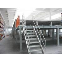 Quality Heavy Duty Pallet Rack Structure Steel Platform With Composite Racking Structure for sale