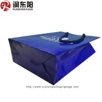 Quality customized logo for Paper Bag Stand Up  Hand Lenth Handle For Shopping for sale