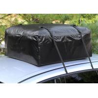 Car Organizer Canvas Roof Rack Bag , Roof Top Cargo Bag For Car Without Roof Rack