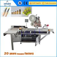 Quality Vial Sticker Labeling Machine Gel Polish And Nail Polish Stcikers for sale