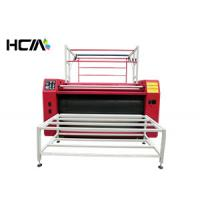 Quality Creative Sublimation Roller Heat Transfer Machine Rewinding With Teflon Roller for sale