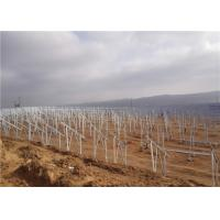 Quality Photovoltaic customized professional design Solar Panel Ground Mounting System for sale