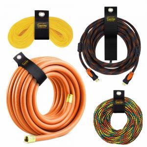 China Colorful Wrap It 10 Piece Heavy Duty Storage Straps , Velcro Adjustable Straps on sale