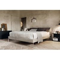 Quality Cassina Moov Modern Upholstered Bed Full Size Platform Soft Replica Customize for sale